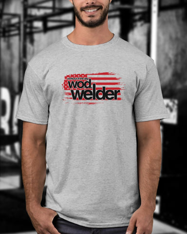 Men's Wodwelder Grey & Red