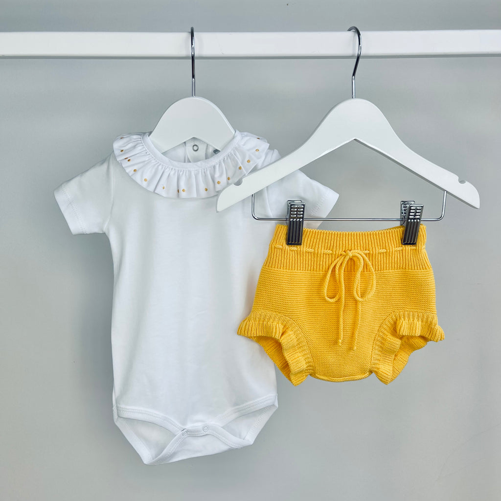 Sunflower Yellow Body & Pants Set