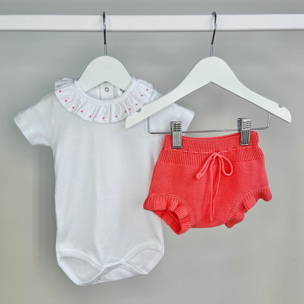 Coral Body & Pants Set