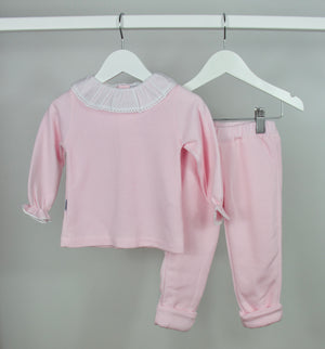 Pink Frill Tracksuit