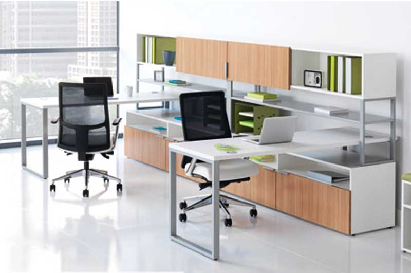 Add Class to Your Office with an L Shaped Desk