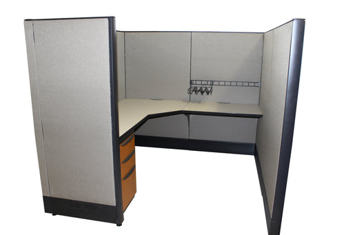 "Pre Owned Cubicle | 6'x6' Haworth- 53""H"