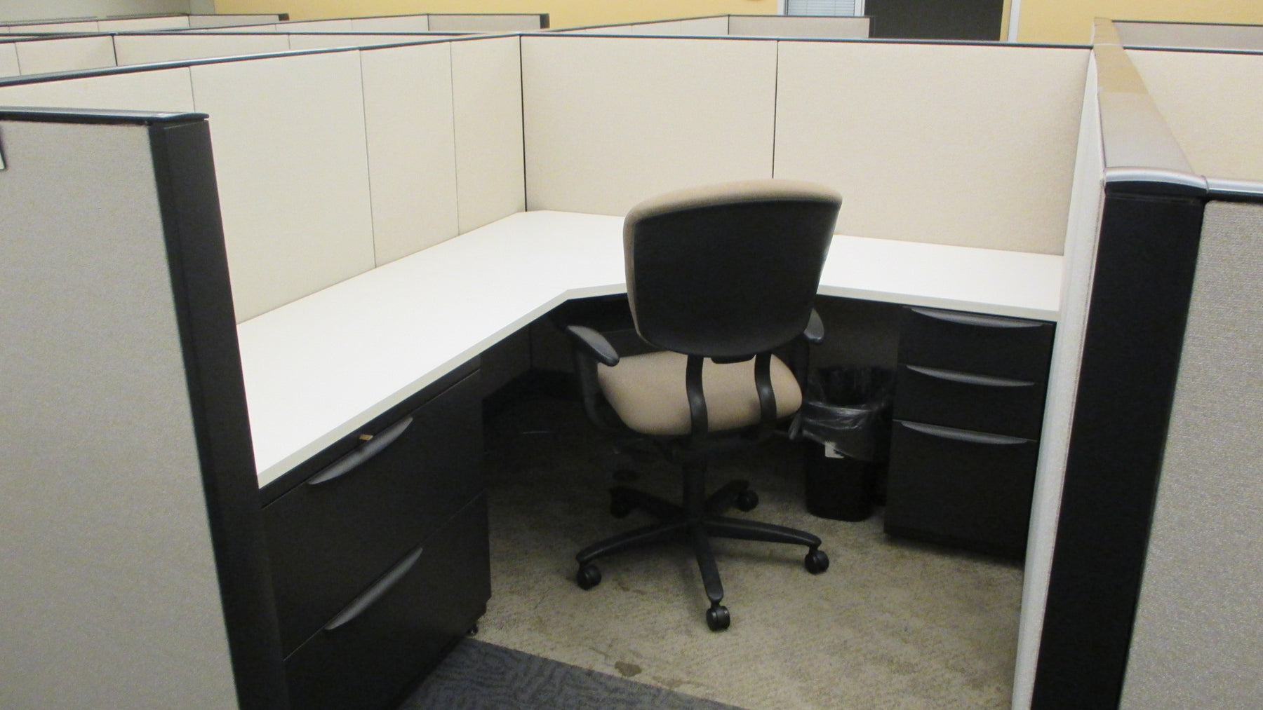 "Pre Owned  Cubicle | 6'x6' Haworth Premise- 53""H"