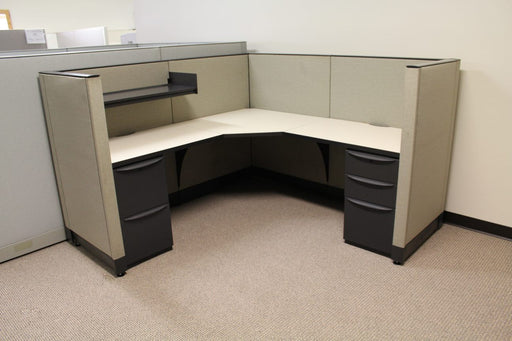 "Pre Owned Cubicle | 6'x6' Haworth- 48""H"