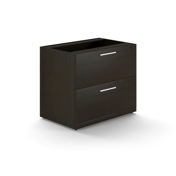 Santa Monica | 2 Drawer Lateral File Cabinet W/O Top