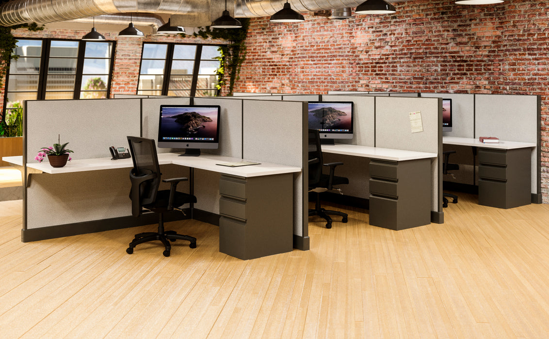 Modern Office Cubicles 6'x6'