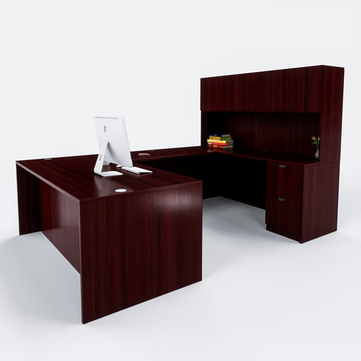 Carmel | U-Shaped Desk with full pedestals