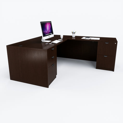 "Carmel | L-Shaped Desk 30""x66"""