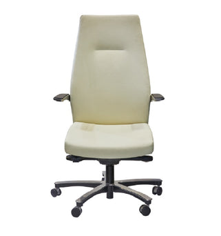 High Back Executive Cashmere Cream Chair
