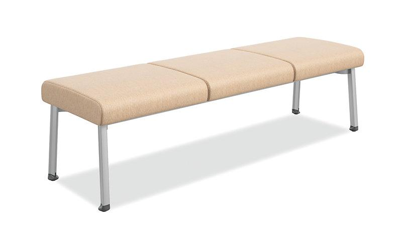 3 Seat Guest Bench Freedman S Office Furniture