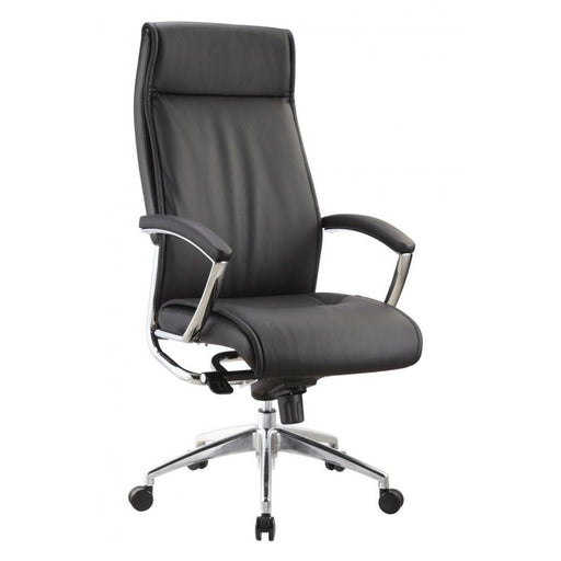Chair - Altitude | High Back Executive | Black Leather Chair