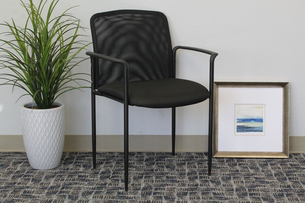 Chair - Bastia | Stackable Mesh Guest Chair