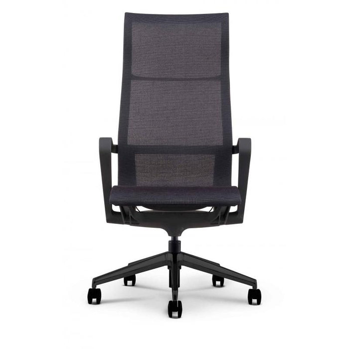 Chair - Bella | High Profile Executive Mesh Chair |  W/ Black Nylon Frame