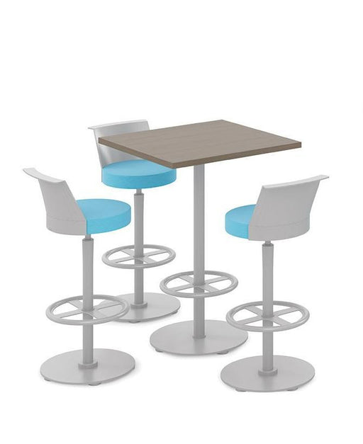 Chair - Café Height Stool | Swivel Foot-ring