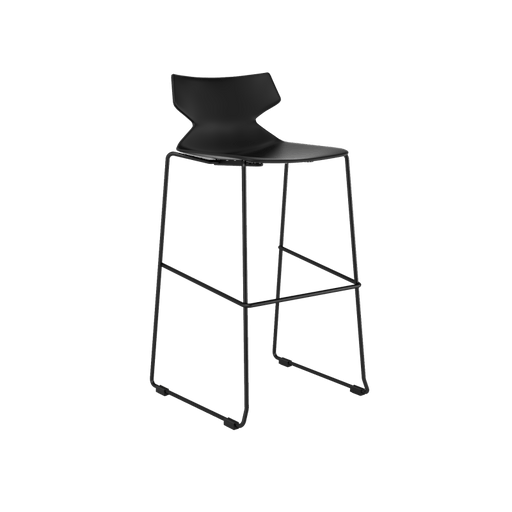 Chair - Fire Black | Bar Height Stool