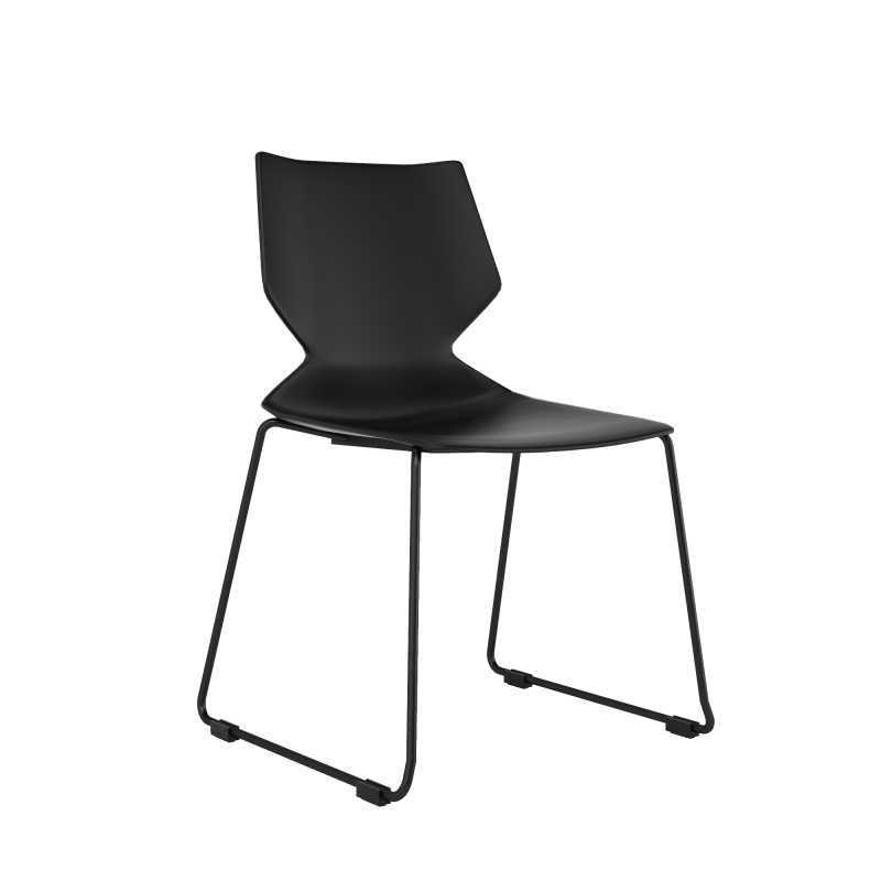 Chair - Fire Black | Stacking Chair