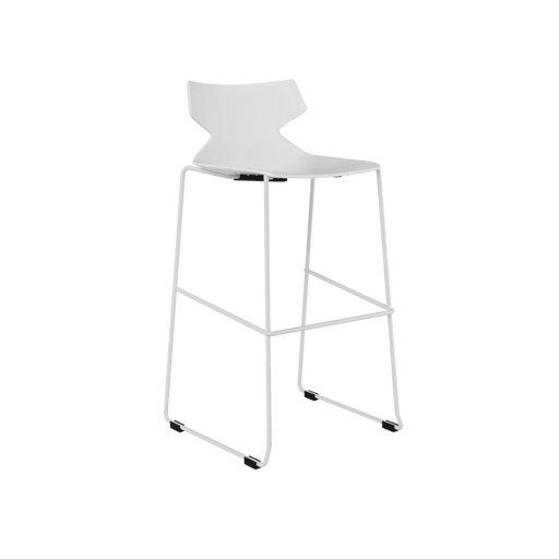 Chair - Fire White | Bar Height Stool