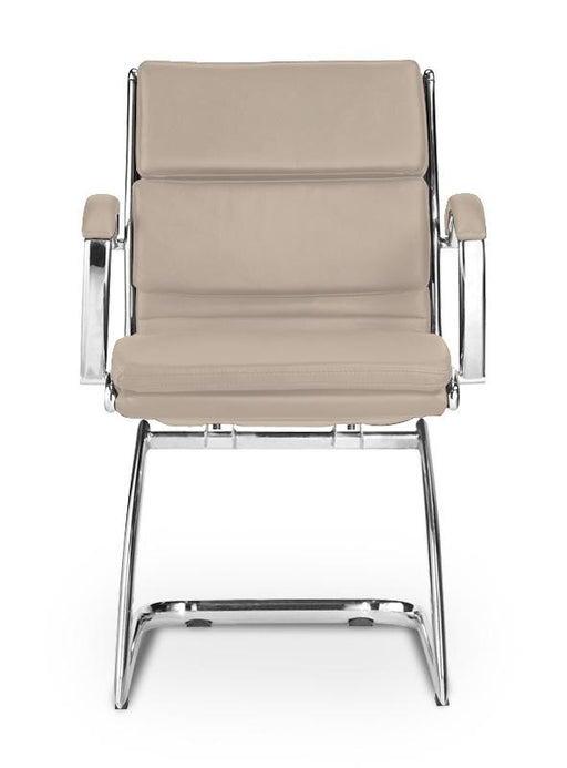 Chair - Ivello | Guest Chair | Sand Leather