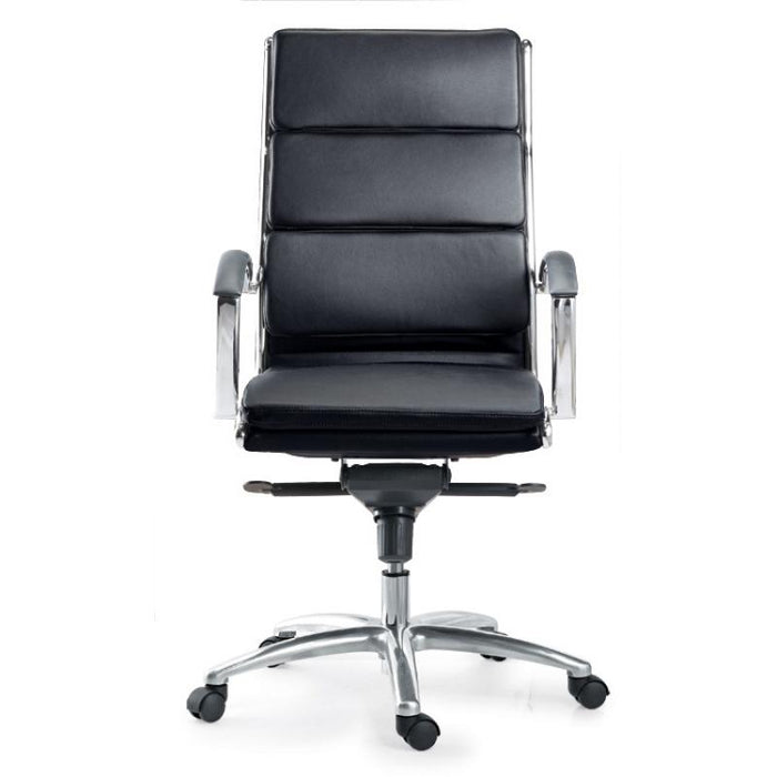 Chair - Ivello | High Back Executive Chair | Black Leather