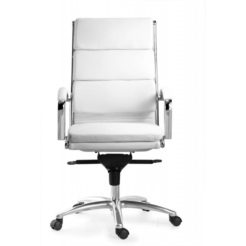 Chair - Ivello | High Back Executive Chair | White Leather