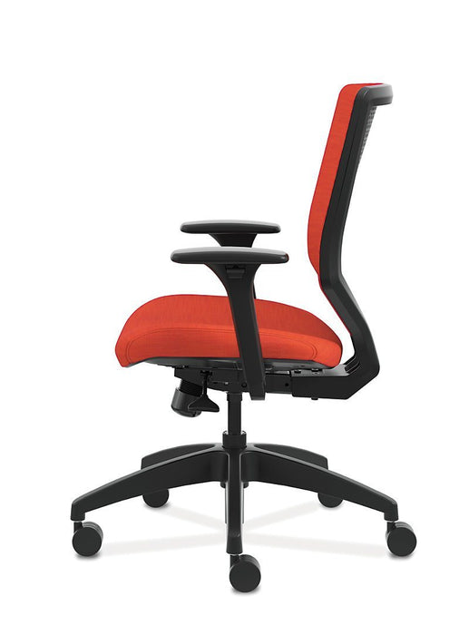 Chair - Mid-Back Task Chair With Upholstered ReActiv Back