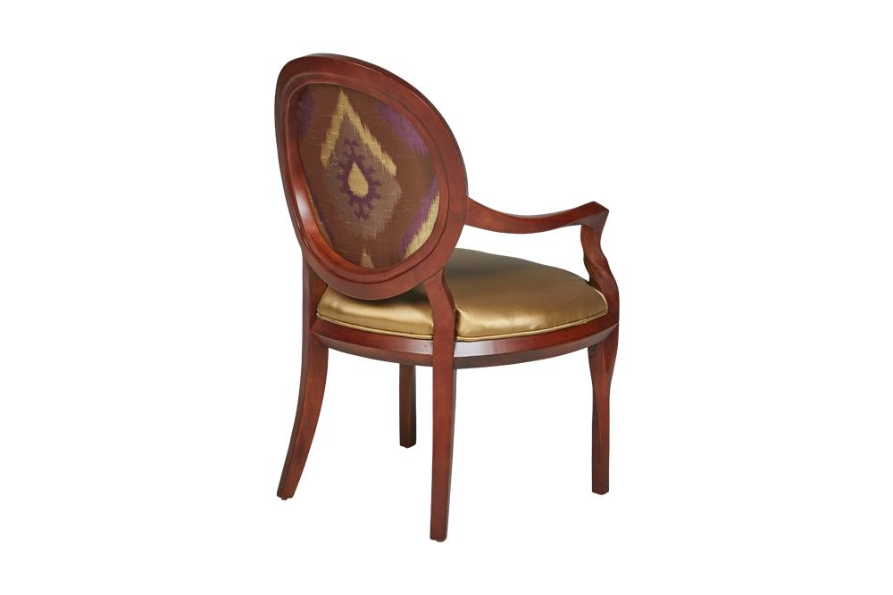 Chair - Occasional Chairs Bronze And Plum
