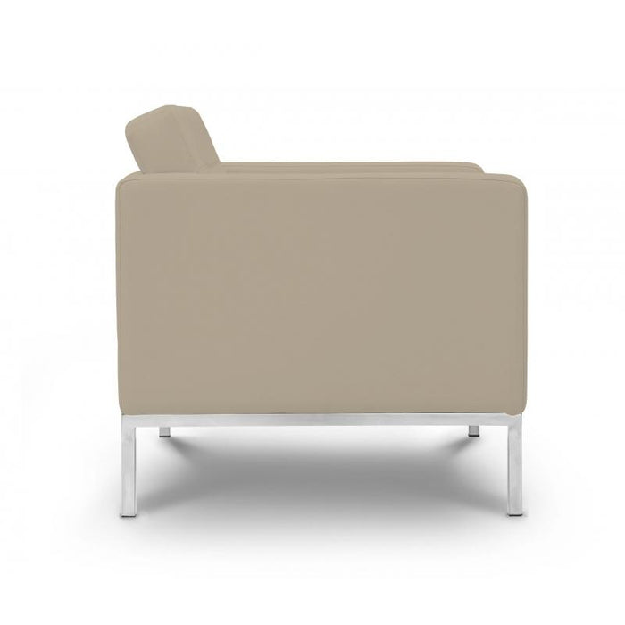 Chair - Pasadena  | Lounge Chair  | Sand Leather