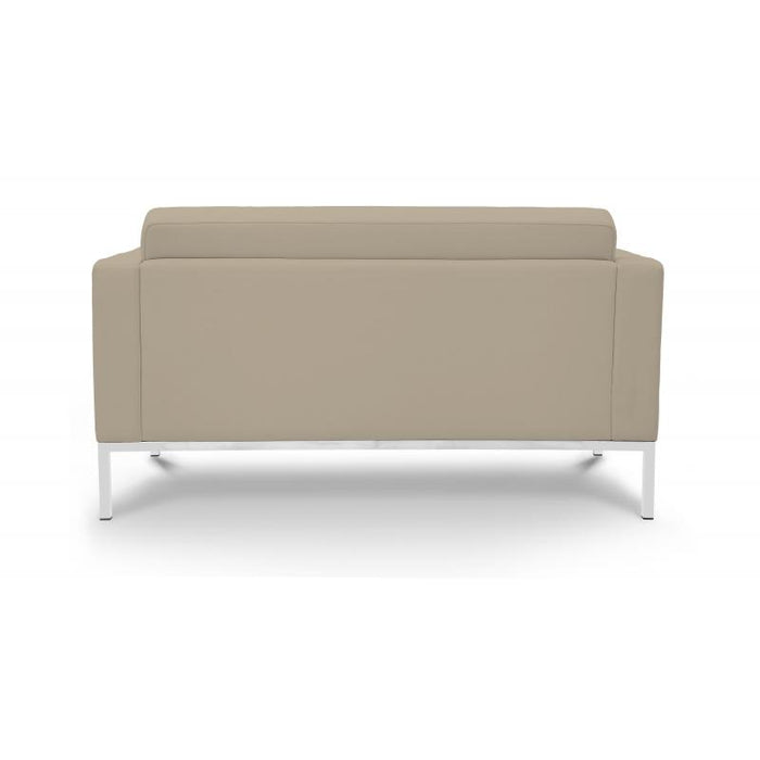 Chair - Pasadena | Love Seat | Sand Leather