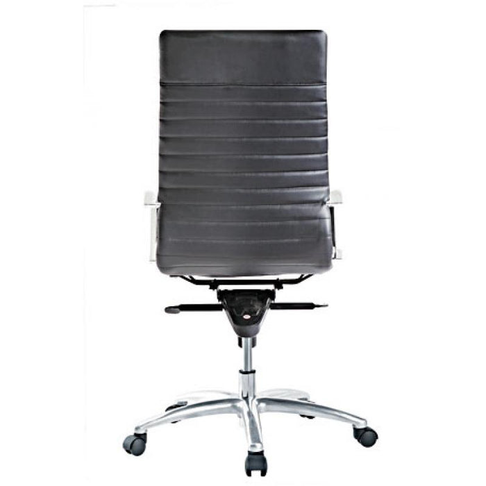 Chair - Zatto | High Back Executive Chair | Black Leather