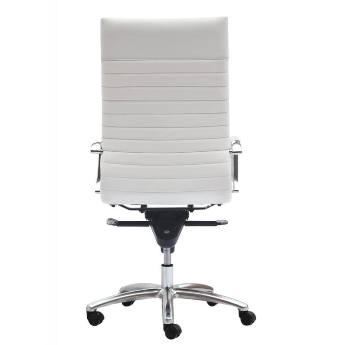 Chair - Zatto | High Back Executive Chair | White Leather