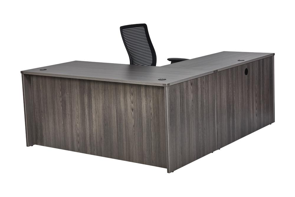 "Desk - Bellagio | L-Shaped Desk | 36""x71"""