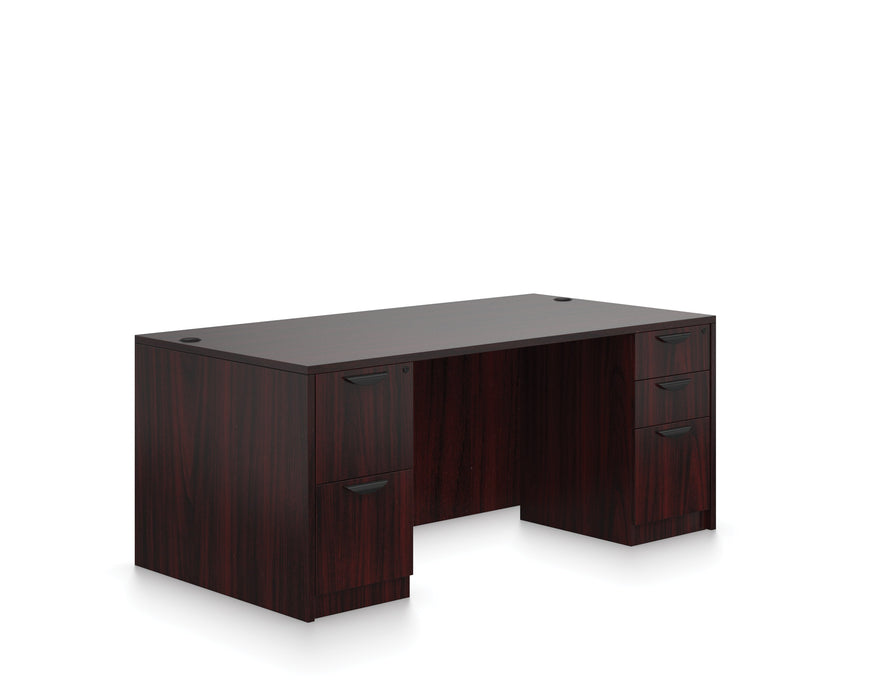 "Desk - Carmel | Double Pedestal Desk | 36""x71"""