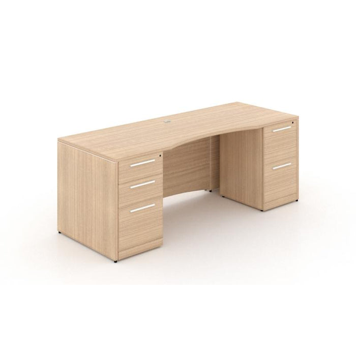 Desk - Santa Monica | Double Pedestal Rectangular Desk