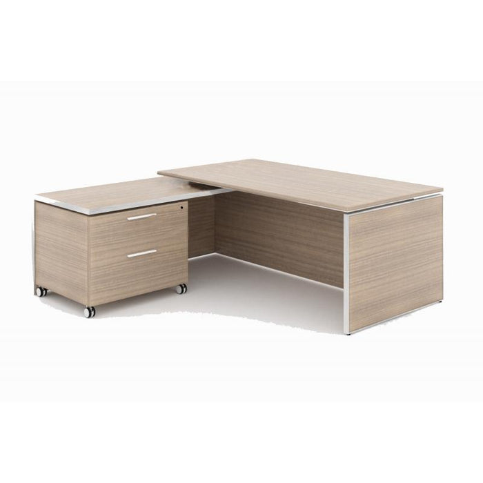 Desk - Santa Monica | Executive L-Shaped Desk | With Laminate Top