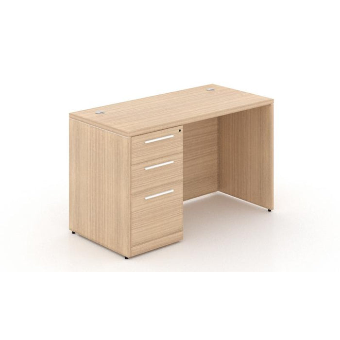 Desk - Santa Monica | Single Pedestal Rectangular Desk