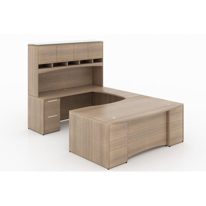 Desk - Santa Monica | U-Shaped Desk | With Laminate Package
