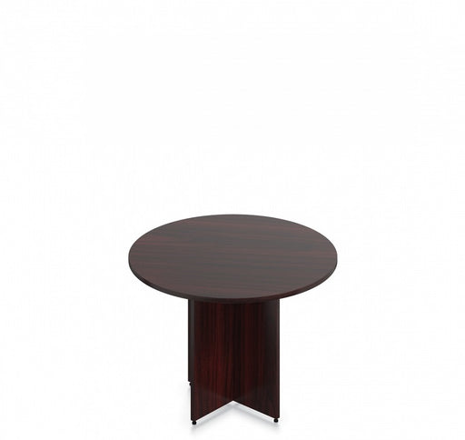 mahogany round table carmel