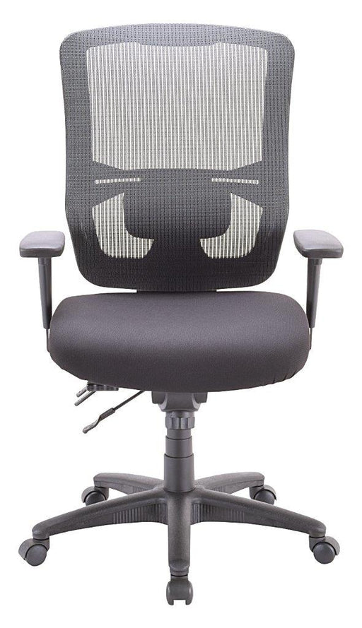 omega chair front view