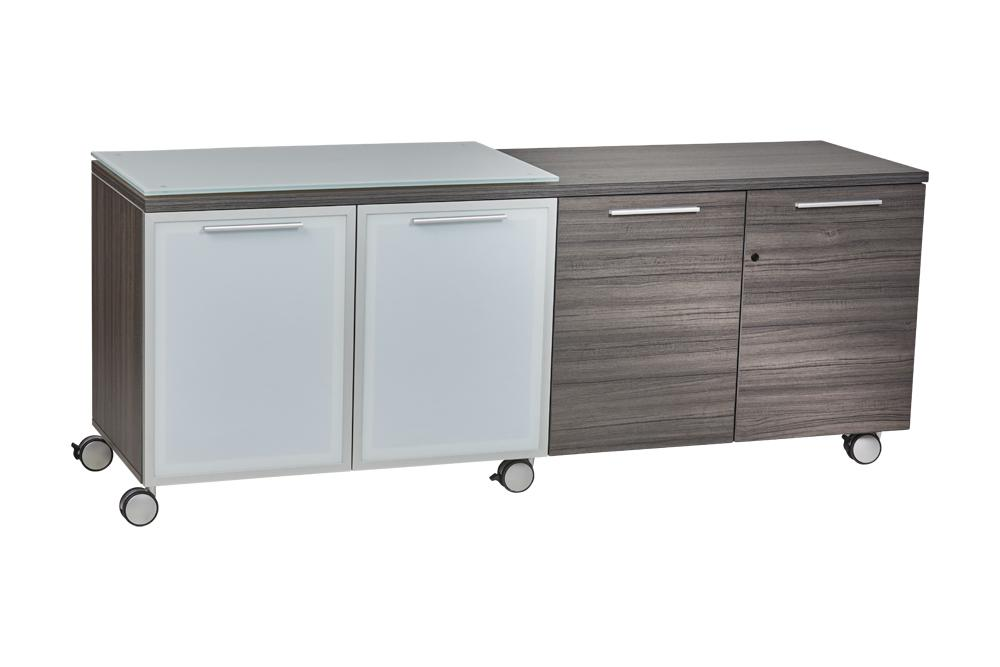 Storage - Santa Monica | 4 Door Mobile Credenza