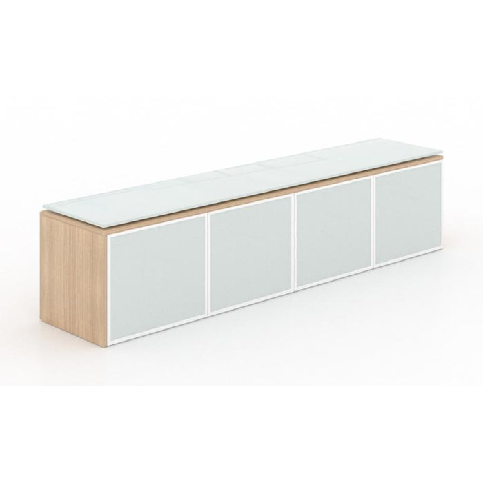 Storage - Santa Monica | Wall Mounted Hutch | With Glass Doors