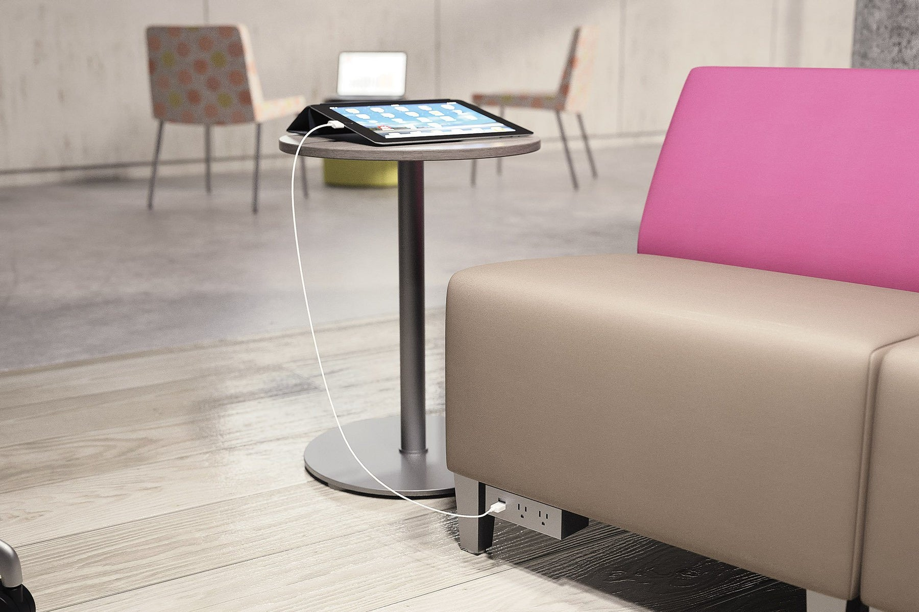 Table - Laminate Personal Lounge Table