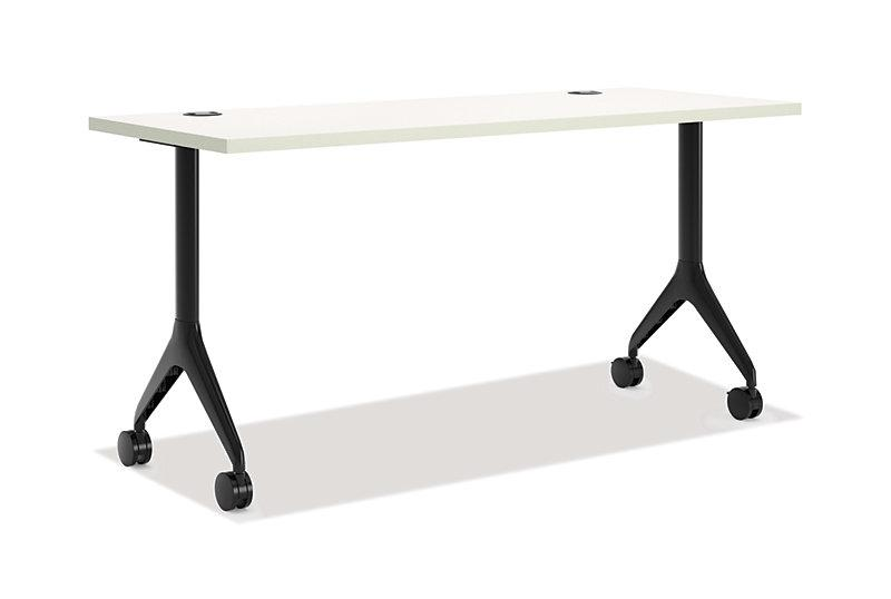 Table - Rectangular Table With Fixed Base