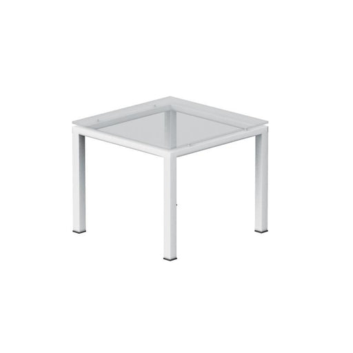 Table - Serenity | End Table | Clear Glass Top