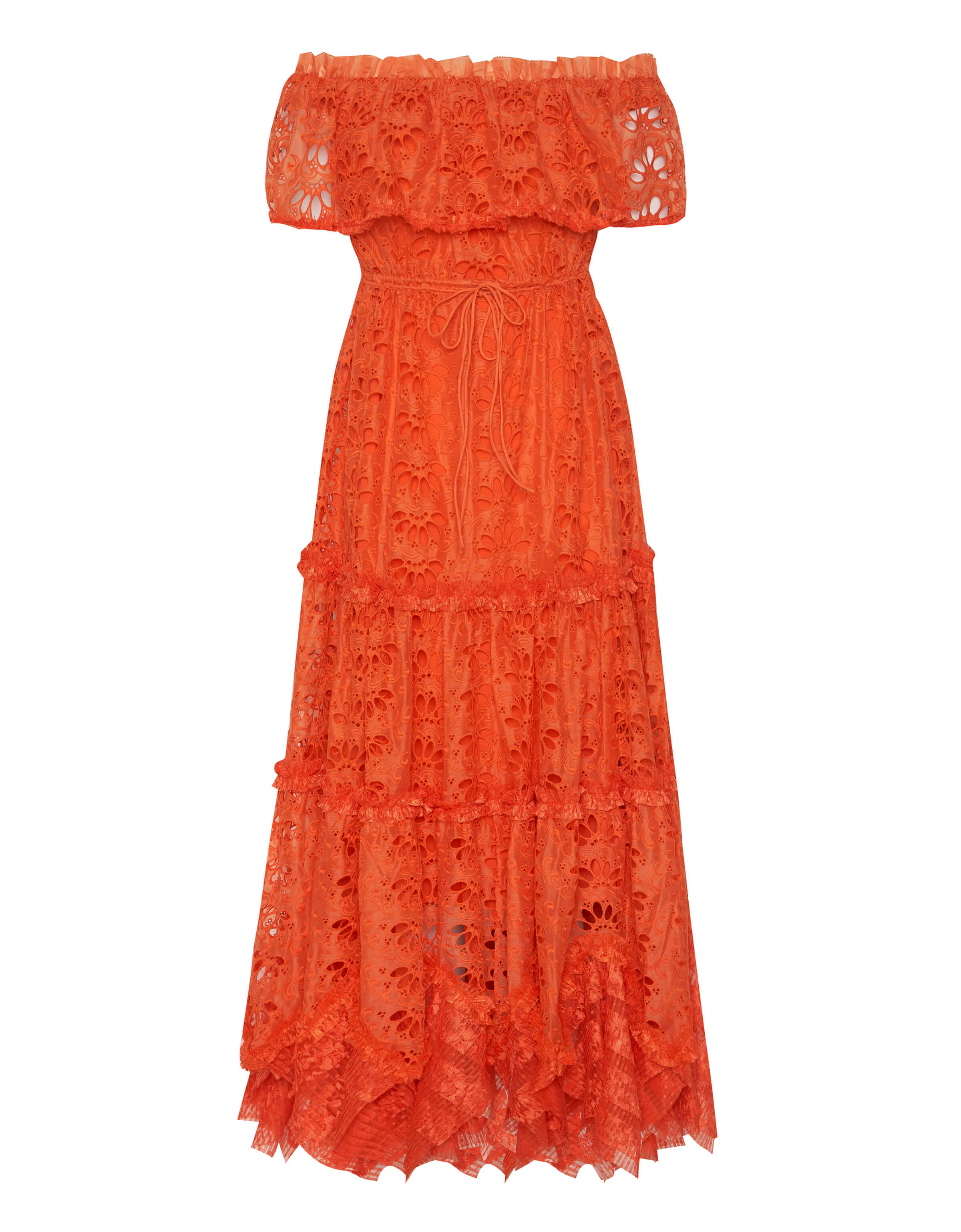 IXIAH - NOSTALGIC MAXI BURNT ORANGE