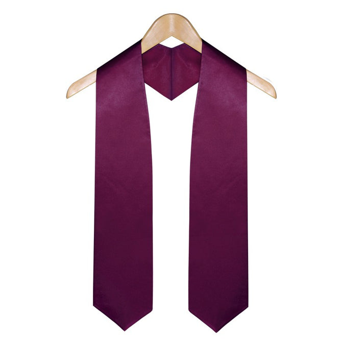Maroon Elementary & Middle School Graduation Stole - Stoles.com