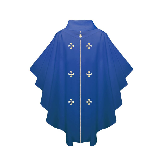 Royal Blue Chasuble - Stoles.com