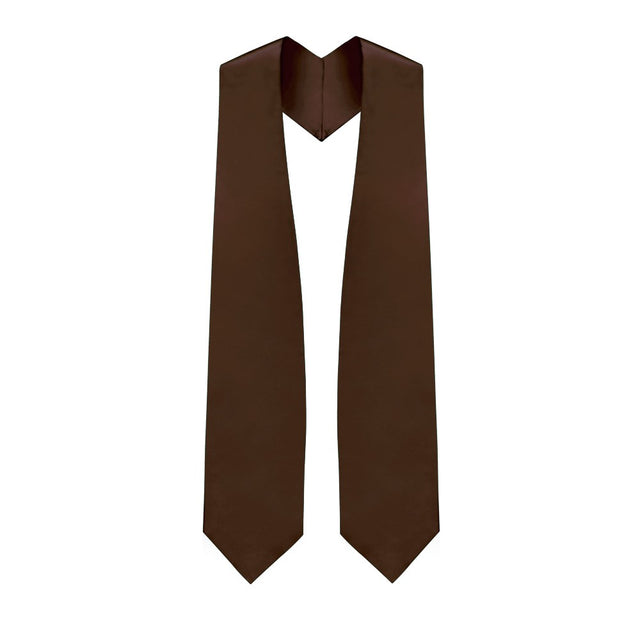 Brown Choir Stole - Stoles.com