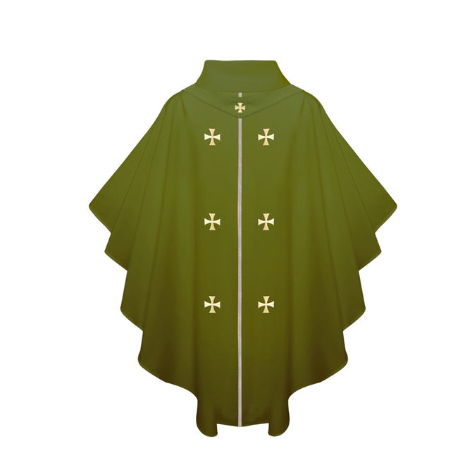 Olive Green Chasuble - Stoles.com