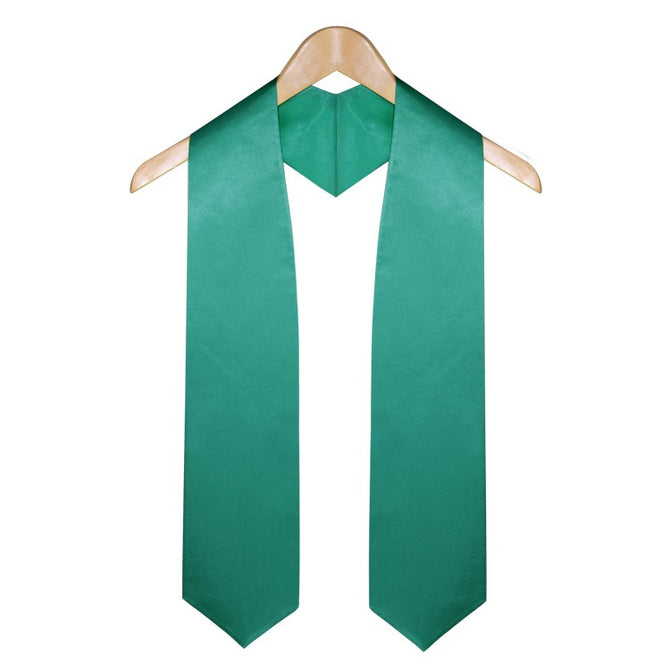 Emerald Green Elementary & Middle School Graduation Stole - Stoles.com