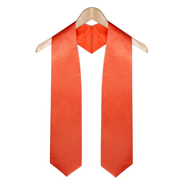Orange University & College Graduation Stole - Stoles.com